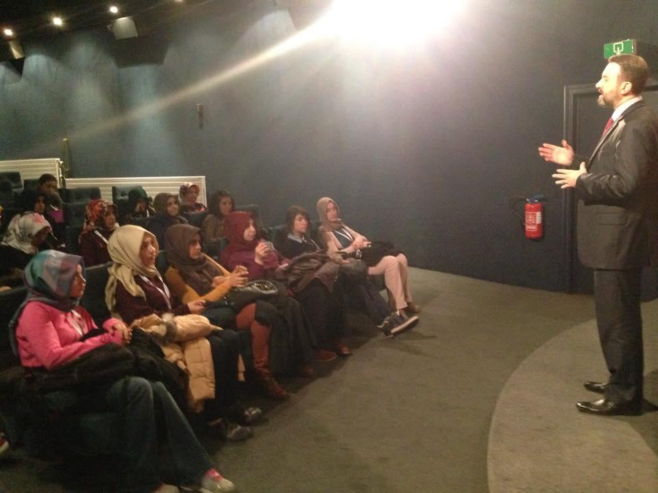 Kayseri Anadolu İmam-Hatip Lisesi Öğrencileri Vakfı Ziyaret etti
