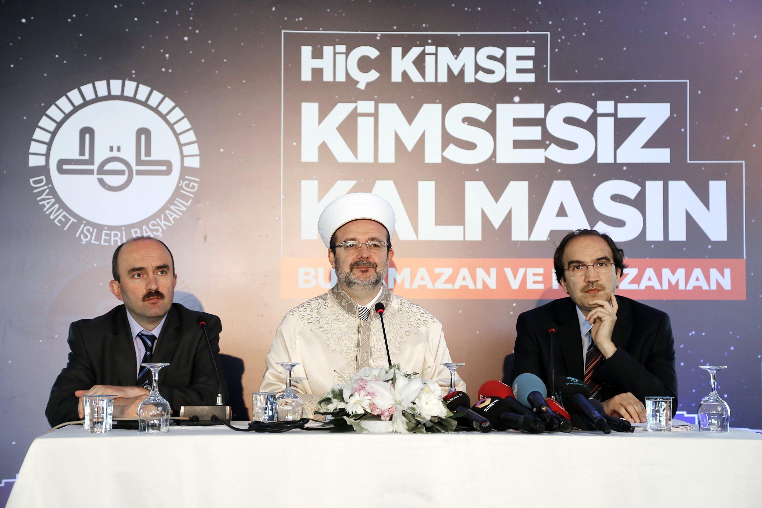 Diyanet İşleri Başkanı Prof. Dr. Mehmet GÖRMEZ'den Ramazan Ayı Mesajı