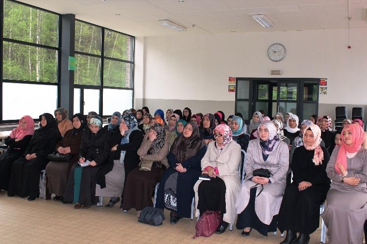 Hanımlardan Bahar Kampına yoğun İlgi