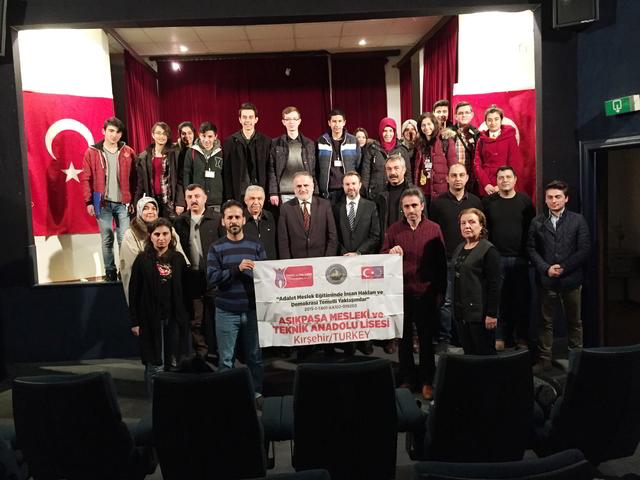 Kırşehir Aşıkpaşa Mesleki ve Teknik Anadolu Lisesi Öğrencilerinden Ziyaret