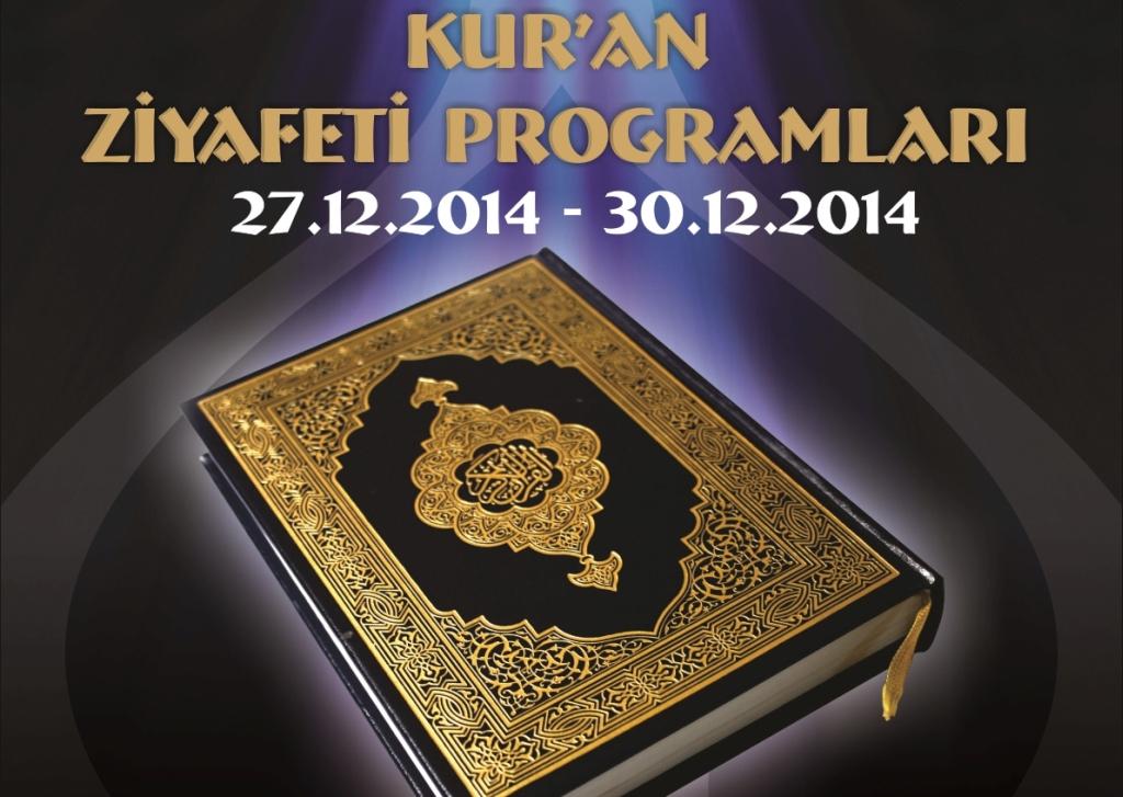 Kur'an Ziyafeti Programları Başlıyor