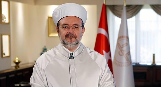 Diyanet İşleri Başkanı Prof. Dr. Mehmet Görmez'in Ramazan Bayramı Mesajı