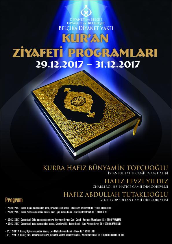 Kur'an Ziyafet Programlarında Buluşalım