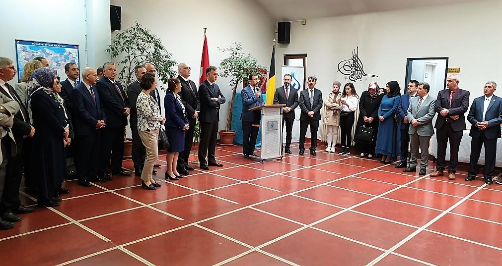 Belçika Diyanet Vakfı'nda Geleneksel Bayramlaşma Programı Düzenlendi