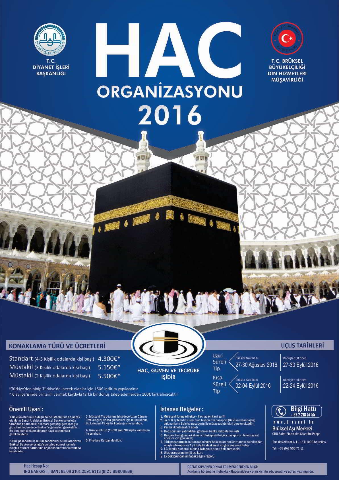 2016 Hac Organizasyonu